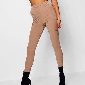 Boohoo nude trousers/leggings brand new with tags